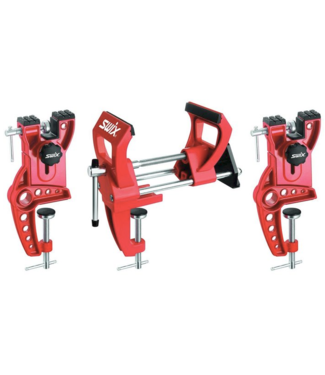 Fischer Swix, Power 3-pcs Ski vise - fits skis up to 155mm wide