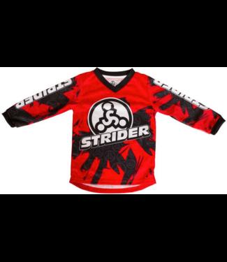 Strider Strider, Racing Jersey, Red, 3T