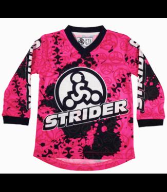 Strider Strider, Racing Jersey, Pink, 3T