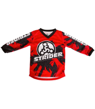 Strider Strider, Racing Jersey, Red, 2T