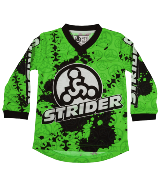 Strider Strider, Racing Jersey, Green, 4T