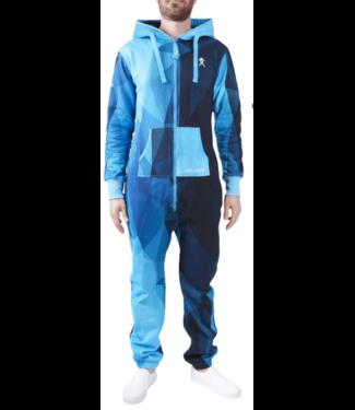 Uni, Chillwear Jumpsuit Geo Blue