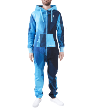 Unichill Uni, Chillwear Jumpsuit Geo Blue