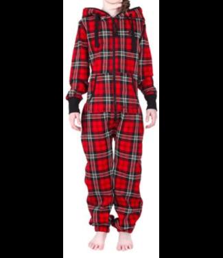Uni, Chillwear Jumpsuit Classic Plaid