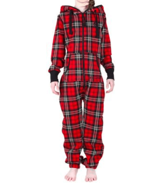 Unichill Uni, Chillwear Jumpsuit Classic Plaid