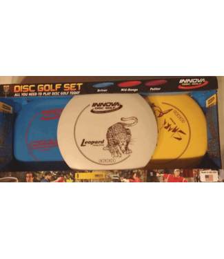 Innova DX Golf Disc: 3-Disc Starter Pack