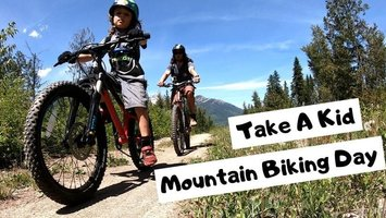 Happy International Take a Kid Mountain Biking Day!