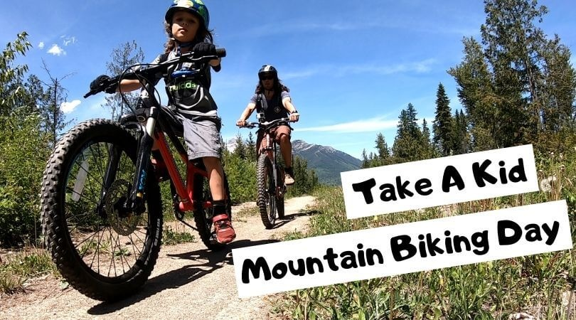 Happy International Take a Kid Mountain Biking Day!