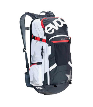 EVOC EVOC, FR Trail Unlimited Protector, 20L, Backpack, Black/White, ML