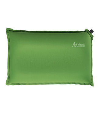 Chinook Chinook, Contour Pillow, Green