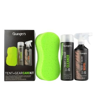 Grangers Tent Cleaner, Repel Trigger Spray and Sponge