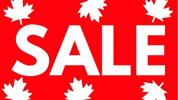 Canada Day 2019 Long Weekend Sale