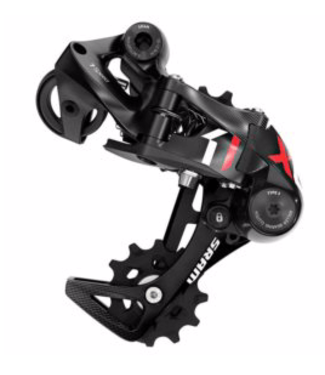 SRAM Sram, X01DH Type 3.0, Rear derailleur, 10sp., Medium, Black