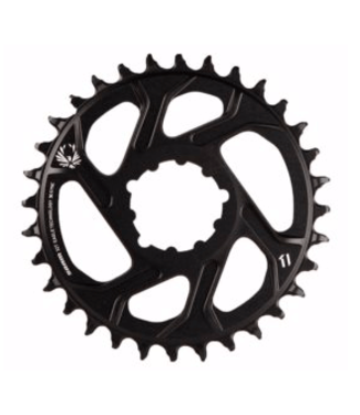 SRAM Sram, X-Sync, 3mm offset, 34T, 12sp., BCD: Direct Mount, Single Chainring, Aluminum, Black