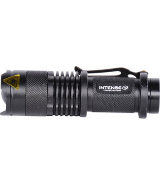 Intense Lighting Systems, 300 Lumen LED Flashlight, Rechargeable, Black