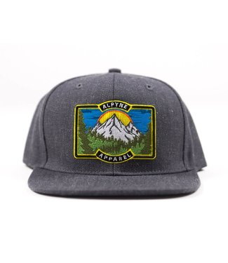 Alpyne Apparel Alpyne Apparel Gorman Snapback, Grey