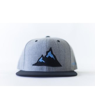 Alpyne Apparel Alpyne Apparel Golden Snapback, Grey