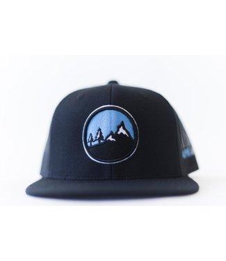 Alpyne Apparel Alpyne Apparel Boulder Snapback, Black