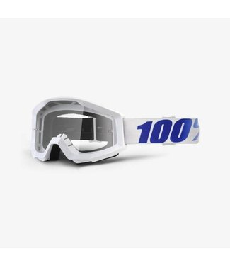 100% 100% Strata Goggles Equinox, Clear Lens