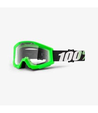 100% 100% Strata Goggles Arkon, Clear Lens
