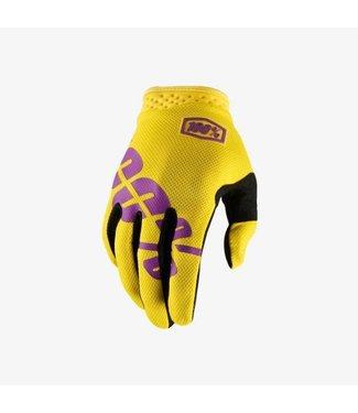 100% 100%, iTrack Gloves