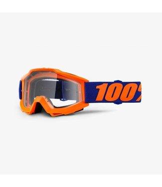 100% 100% Accuri Goggle Origami, Clear Lens