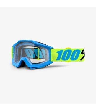 100% 100% Accuri Goggle Belize, Clear Lens