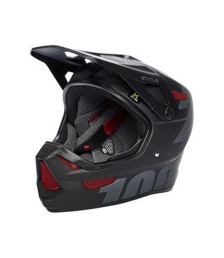 100% 100%, Status DH/BMX Helmet, Black Meteor