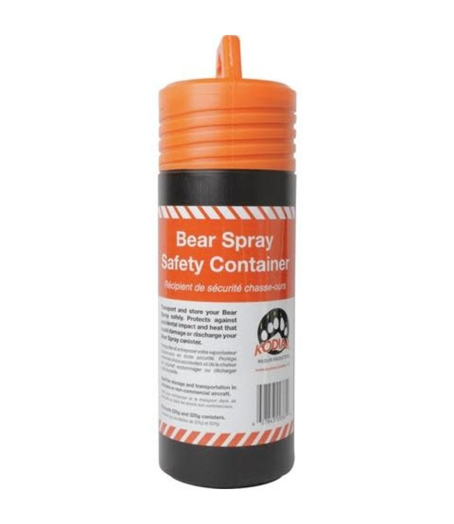 Kodiak Kodiak Bear Spray Safety Container