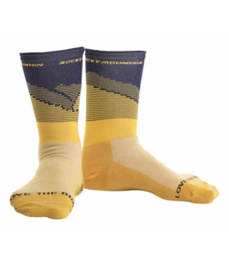 Rocky Mountain Bicycles Rocky Mountain, CC Socks Yellow LG/XL