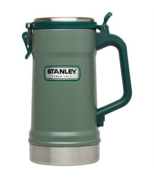 Stanley STANLEY 24OZ CLASSIC VACUUM STEIN HAMMERTONE GREEN -TRILING