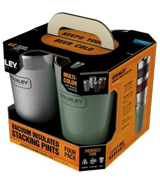 Stanley STANLEY ADVENTURE 16OZ VACUUM PINT MULTI UPDATED 4 PACK
