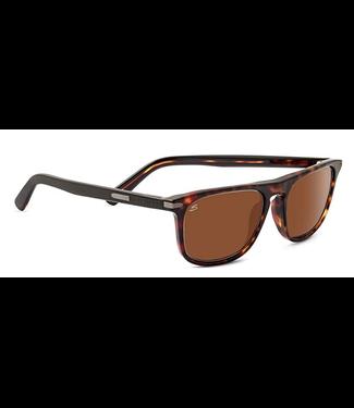 Serengeti Serengeti, Leonardo Sunglasses, Dark Havana, Polar, Drivers, 6