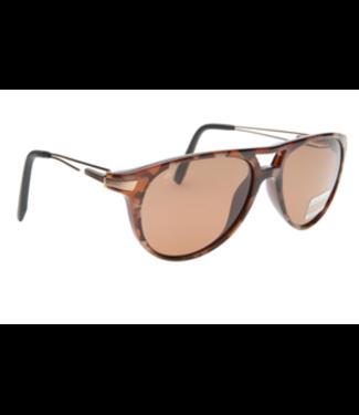 Serengeti Serengeti, Udine Sunglasses, Toupe/Tort Orange, Polar, Drivers