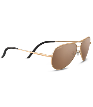 Serengeti Serengeti, Carrara Small Gold Polar Drivers Gold 6 Base Sunglasses, 8551