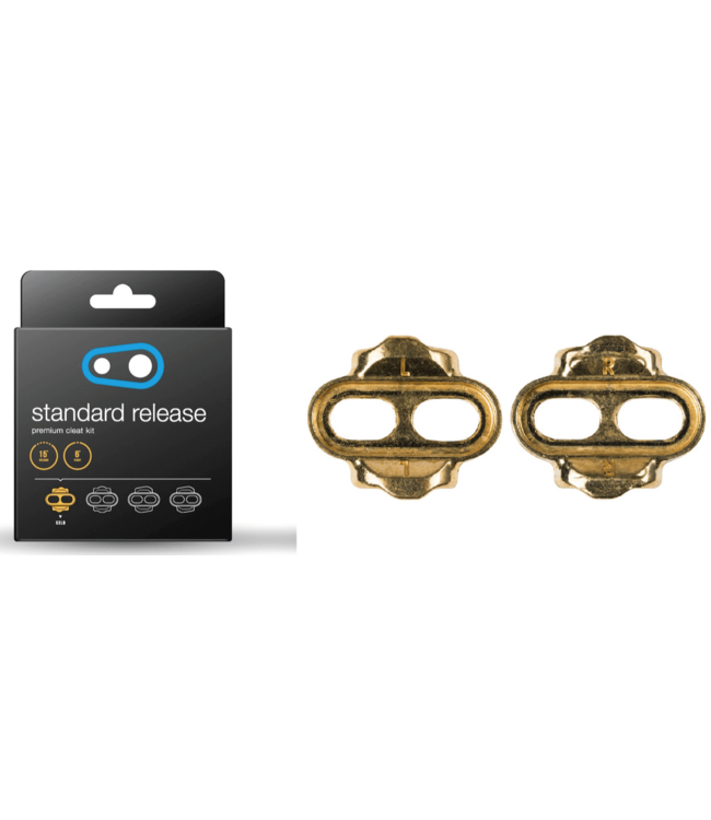 Crank Brothers Crank Brothers, Standard Release Cleat 6deg, Gold