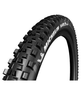 Michelin, Wild AM Comp, Tire, 27.5''x2.35, Folding, Tubeless Ready, GUM-X, 60TPI, Black