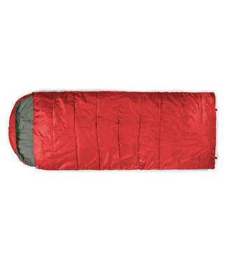 Chinook Chinook, Trailside Sundowner 5 (5F) Sleeping Bag, Red