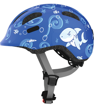 Abus Abus, Smiley, Helmet, Blue Sharky