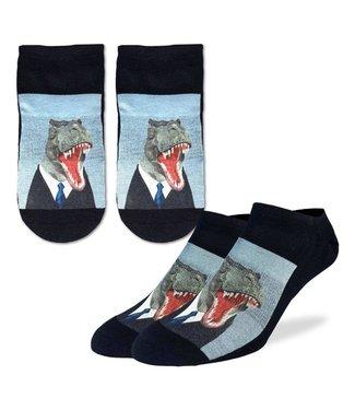 Good Luck Sock Good Luck Socks, Men's Mr. T-Rex Ankle Socks - Shoe Size 7-12