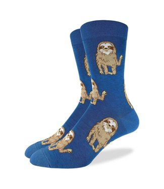 Good Luck Sock Good Luck Socks, Men's Hello Sloth Socks - Shoe Size 7-12