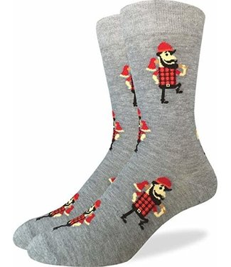 Good Luck Sock Good Luck Socks, Men's Lumberjack Socks - Shoe Size 7-12