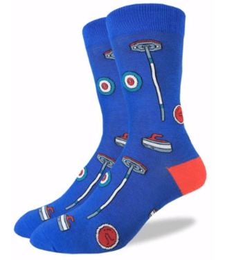 Good Luck Sock Good Luck Socks, Men's Curling Socks - Shoe Size 7-12