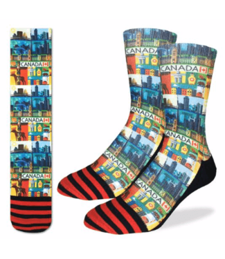 Good Luck Sock Good Luck Socks, Men's Canada Socks - Shoe Size 8-13