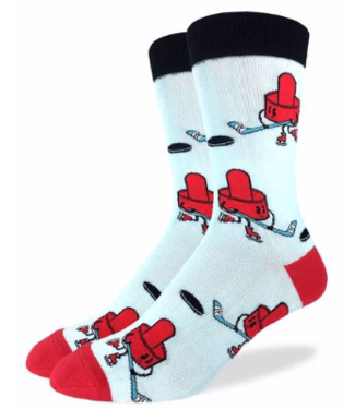Good Luck Sock Good Luck Socks, Men's Air Hockey Socks - Shoe Size 7-12