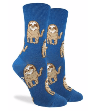 Good Luck Sock Good Luck Socks, Women's Hello Sloth Socks - Shoe Size 5-9