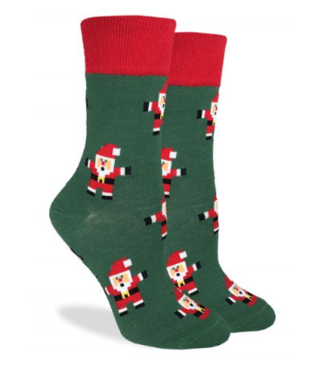 Good Luck Sock Good Luck Socks, Women's Santa Claus Socks - Shoe Size 5-9