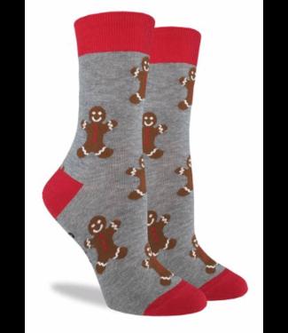 Good Luck Sock Good Luck Socks, Women's Gingerbread Men Socks - Shoe Size 5-9