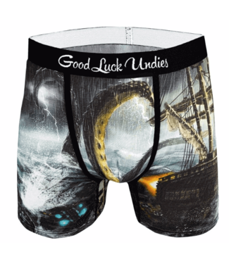 Good Luck Sock Good Luck, Men's Kraken Undies