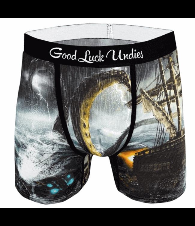 Good Luck Sock Good Luck, Men's Kraken Undies,